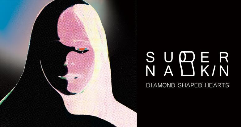 Super Napkin - Diamond Shaped Hearts