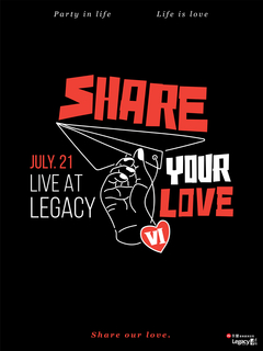 SHARE YOUR LOVE分享愛6週年LIVE AT LEGACY