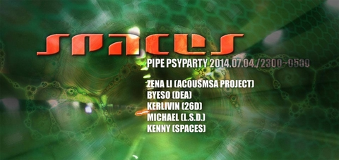 SPACES 02 - PIPE PSY PARTY