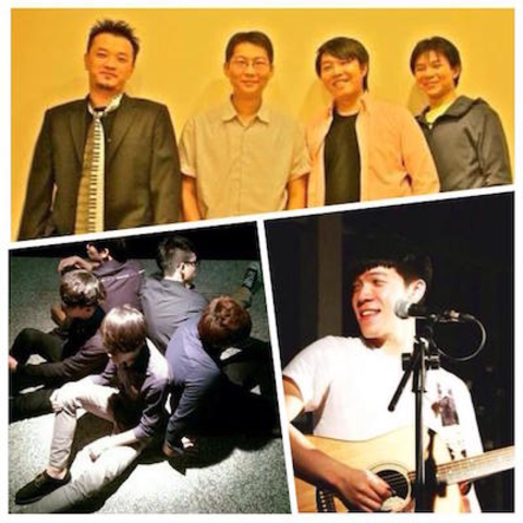 PIPE Sunday Live-Hands Up Band (HUB)分享器樂團、金大為、歪Five樂團