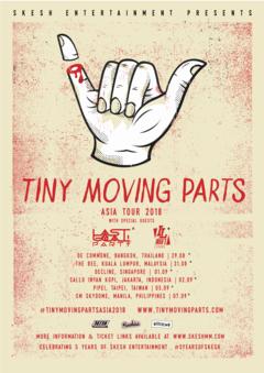 TINY MOVING PARTS 亞洲巡迴台演唱會