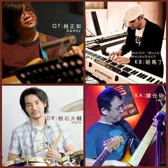 Riverside Jazz Collective 河岸爵士精選-林正如/陳任佑/根石大輔/明馬丁