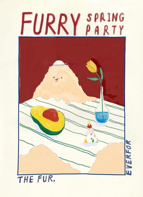✹ 春天惹毛派對 ✹ Furry Spring Party ✹