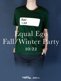 "【Legacy mini @ amba】Equal Ego ""Fall/Winter Party""  嘉賓:爵隊三重奏"