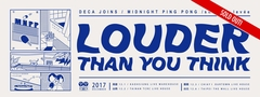 『 Louder Than You Think 』 Airhead Records 五週年最終巡迴 台南場(Sold Out)