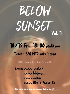 Below Sunset vol.1