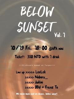 Below Sunset vol.1