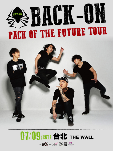 BACK-ON PACK OF THE FUTURE TOUR-TAIPEI-