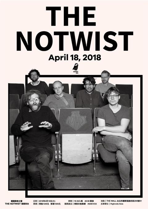 德國傳奇之聲 THE NOTWIST 首度來台